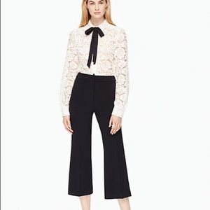 COPY - Final Price NWT Kate Spade black cropped p…